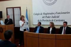 Acto por el Día del Magistrado y la Función Judicial