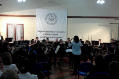 Orquesta Sinfónica de la Provincia en el Colegio - Día del Magistrado