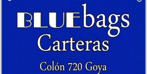 BLUE BAG CARTERAS