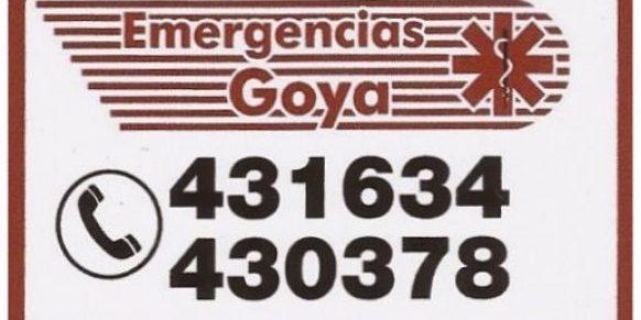 EMERGENCIAS GOYA